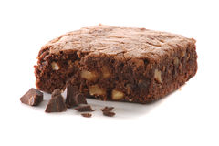 Isolated Brownie Stock Photography