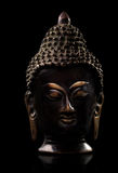 Isolated Buddha statue. Simple images of a Buddhist statue Royalty Free Stock Photo