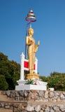 Isolated Buddha statue Stock Photos
