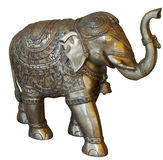 Isolated Buddhist elephant Royalty Free Stock Image