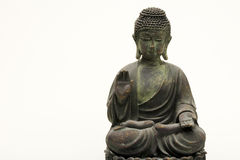 Isolated budha statue Stock Photo