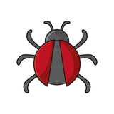 Isolated bug insect design Stock Photo
