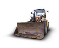 Isolated bulldozer Royalty Free Stock Image