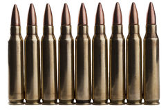 Isolated Bullets Royalty Free Stock Photos