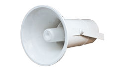 Isolated bullhorn Stock Photo