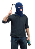 Isolated Burglar Stock Photo