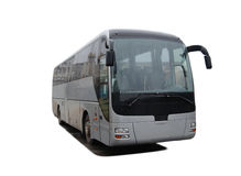 Isolated bus Royalty Free Stock Photo