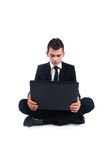Isolated business man Stock Photography