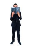 Isolated business man Stock Image