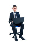 Isolated business man Royalty Free Stock Photos