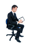 Isolated business man Royalty Free Stock Images