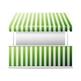 Isolated business stall,. Detailed vector illustration of a stall, excellent vector illustration, EPS 10 stock illustration