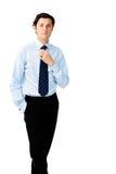 Isolated businessman Royalty Free Stock Photo