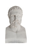 Isolated Bust Of Periandros (died In 583 Before Christ) - Replica In The Achilleon Palace In Corfu. Royalty Free Stock Photos