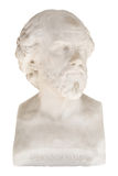 Isolated bust of William Shakespeare in the Achilleion in Corfu/ Stock Images
