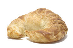 Isolated Butter Croissant Royalty Free Stock Photo
