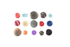 Isolated buttons Stock Images