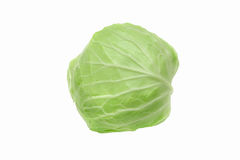 Isolated cabbage on white background with clipping path Stock Photo