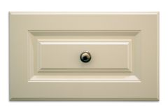 Isolated Cabinet Drawer Stock Photo