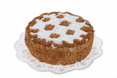 Isolated Cake Royalty Free Stock Photography