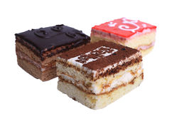 Isolated cake royalty free stock images