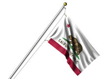 Isolated California Flag Stock Images