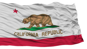 Isolated California Flag, USA state Stock Photography