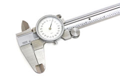Isolated Calipers Stock Image