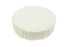 Isolated camembert cheese Royalty Free Stock Photos