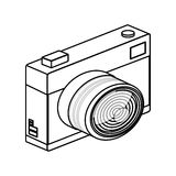 Isolated camera device design vector illustration