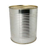 Isolated can Stock Image