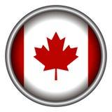Isolated Canadian badge Stock Image