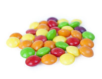 Isolated candies Royalty Free Stock Images