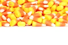 Isolated candy corn Royalty Free Stock Image