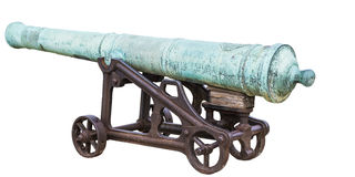 Isolated cannon Royalty Free Stock Images