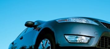 Isolated car Stock Photography