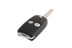 Isolated Car Door And Ignition Key With Path Stock Photography