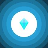 Isolated Carat Flat Icon. Gemstone Vector Element Can Be Used For Carat, Diamond, Gemstone Design Concept. Gemstone Vector Element Can Be Used For Carat stock illustration
