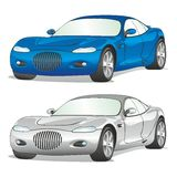Isolated cars with details Stock Photos