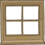 Isolated Cartoon Window Stock Photos