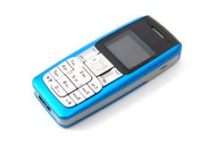 Isolated cell phone Stock Images