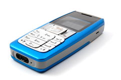 Isolated cell phone Royalty Free Stock Photo