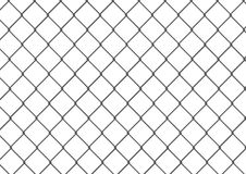 Isolated chain link fence. Editable and isolated chain link fence Royalty Free Stock Photo