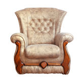 Isolated chair Royalty Free Stock Images
