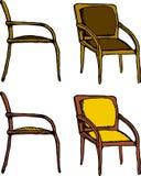 Isolated Chair Cartoon Stock Photo