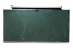 Isolated chalkboard. A high-resolution photograph of a chalkboard isolated from its background royalty free stock photography