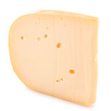 Isolated cheese Stock Photography