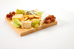 Isolated Cheeseboard Royalty Free Stock Photos