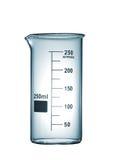 Isolated chemical beaker Stock Photos