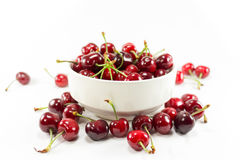 Isolated Cherry Fruit Stock Image